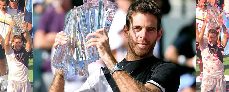 Del Potro campeón en Indian Wells